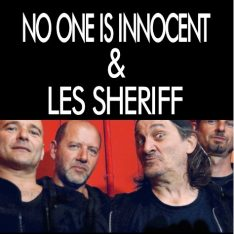 Ticketpass : Zenith de Pau NO ONE IS INNOCENT - LES SHERIFF
