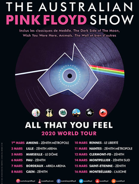 THE AUSTRALIAN PINK FLOYD SHOW sur Ticketpass