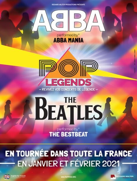 POP LEGENDS - ABBA & THE BEATLES sur Ticketpass