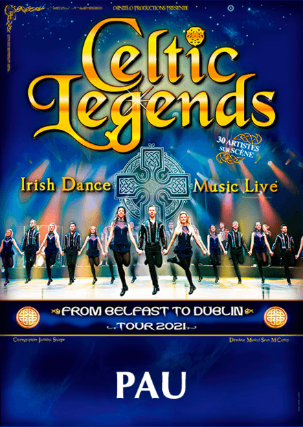 Ticketpass : Zenith de Pau CELTIC LEGENDS